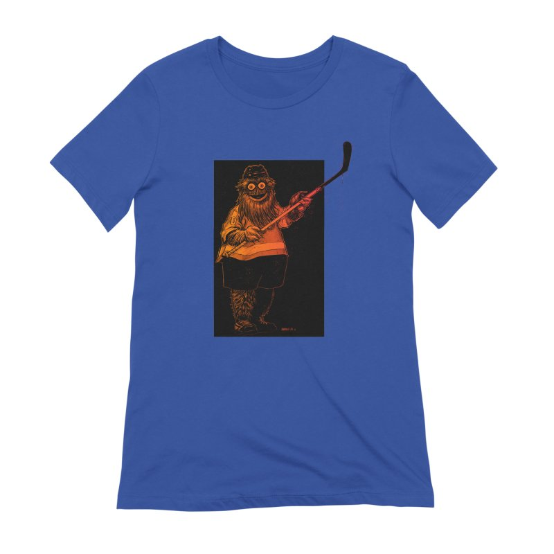 Gritty Women's Extra Soft T-Shirt by Ambrose H.H.'s Artist Shop