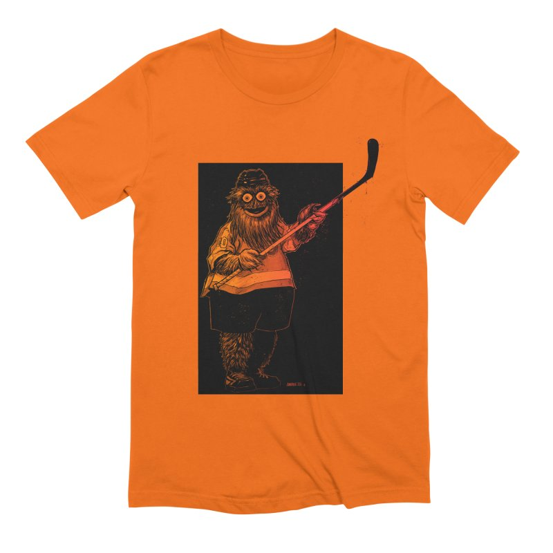 Gritty Men's T-Shirt by Ambrose H.H.'s Artist Shop