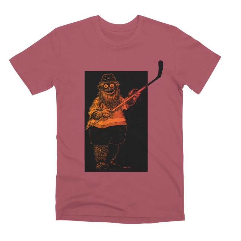 Gritty Men's Premium T-Shirt by Ambrose H.H.'s Artist Shop