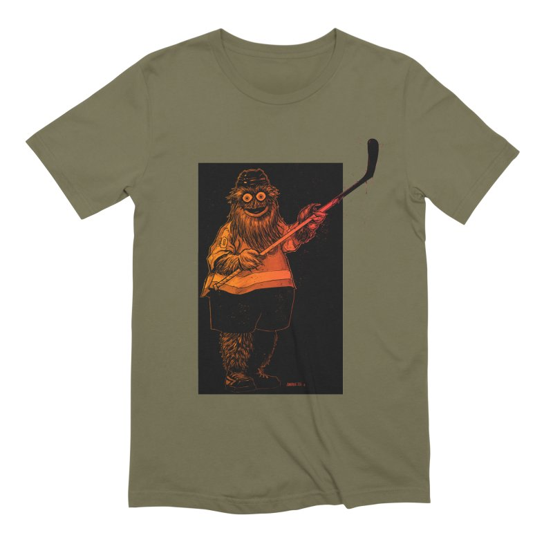 Gritty Men's Extra Soft T-Shirt by Ambrose H.H.'s Artist Shop