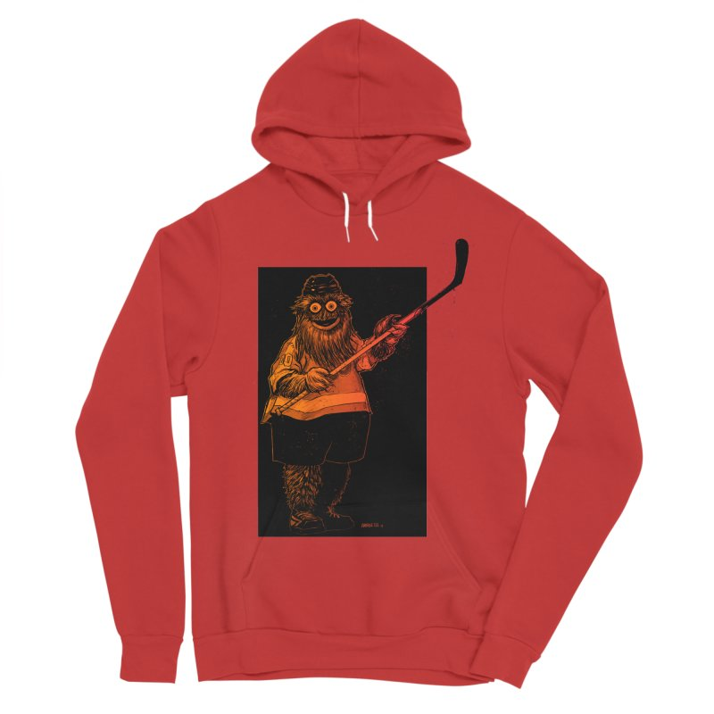 Gritty Women's Sponge Fleece Pullover Hoody by Ambrose H.H.'s Artist Shop