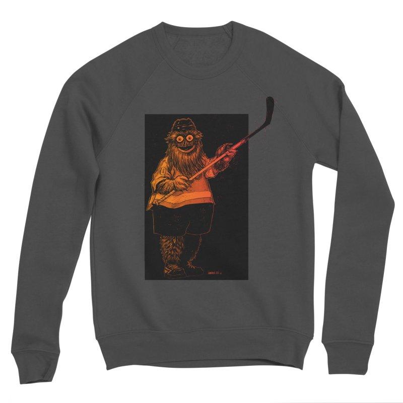Gritty Women's Sponge Fleece Sweatshirt by Ambrose H.H.'s Artist Shop