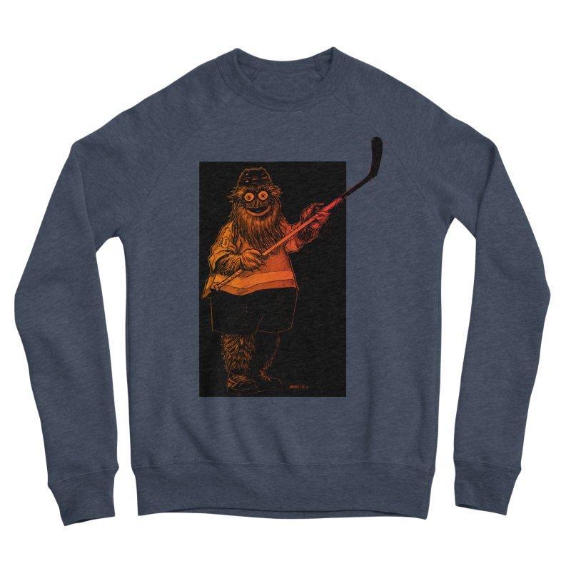 Gritty Men's Sponge Fleece Sweatshirt by Ambrose H.H.'s Artist Shop