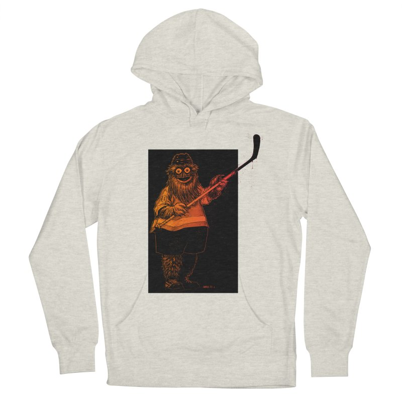 Gritty Women's French Terry Pullover Hoody by Ambrose H.H.'s Artist Shop
