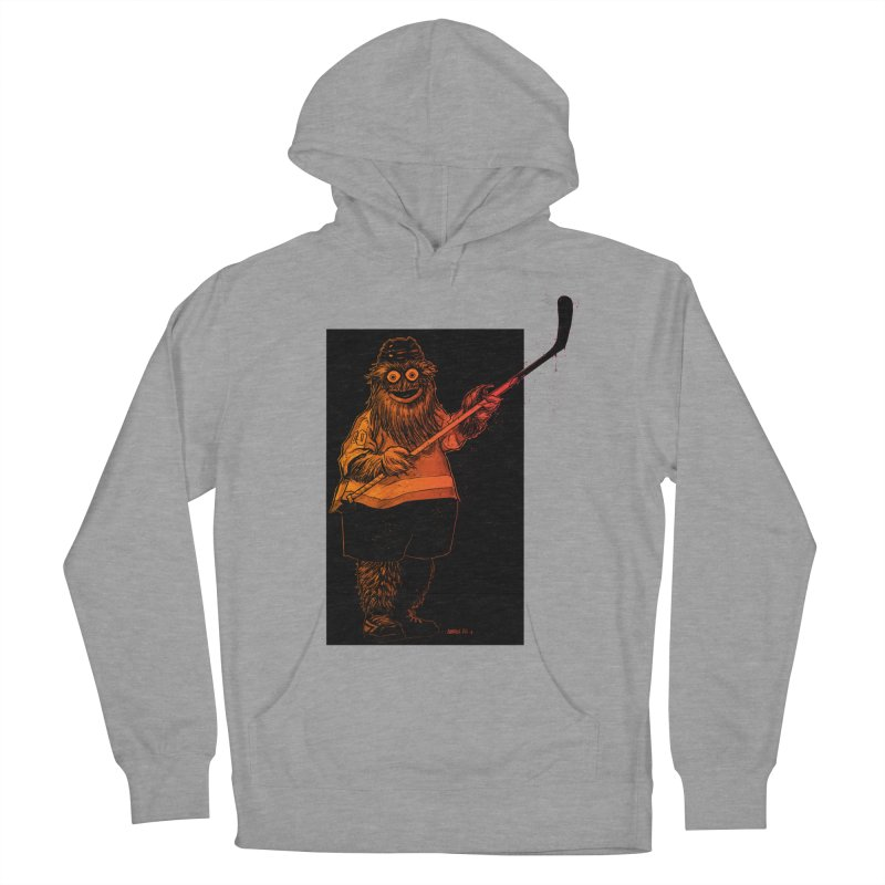 Gritty Men's French Terry Pullover Hoody by Ambrose H.H.'s Artist Shop