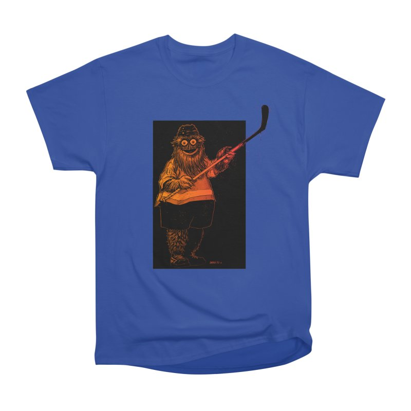 Gritty Men's Heavyweight T-Shirt by Ambrose H.H.'s Artist Shop