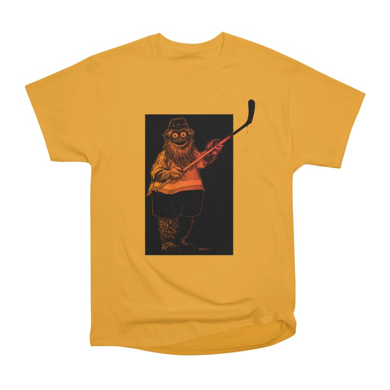 Gritty Women's Heavyweight Unisex T-Shirt by Ambrose H.H.'s Artist Shop