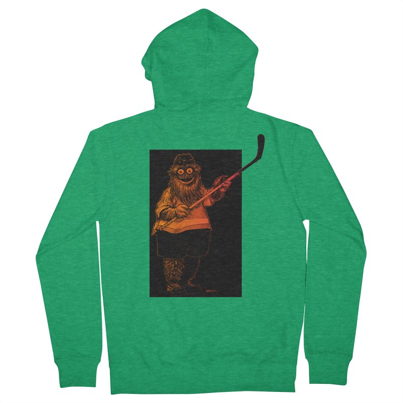 Gritty Women's Zip-Up Hoody by Ambrose H.H.'s Artist Shop