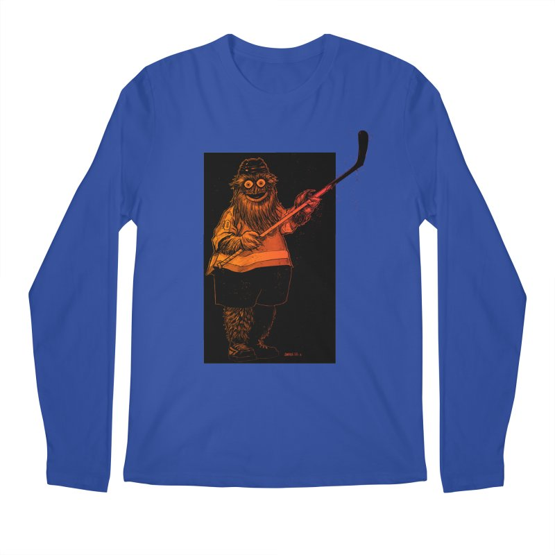 Gritty Men's Longsleeve T-Shirt by Ambrose H.H.'s Artist Shop