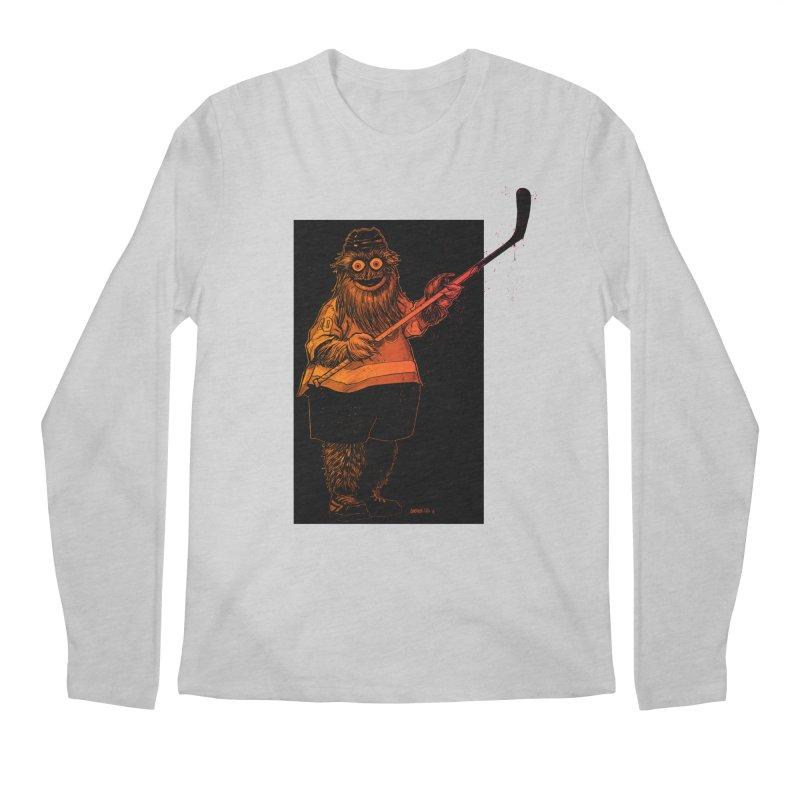 Gritty Men's Regular Longsleeve T-Shirt by Ambrose H.H.'s Artist Shop