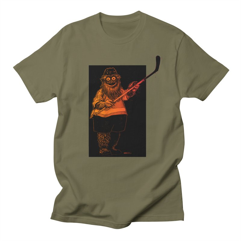 Gritty Men's Regular T-Shirt by Ambrose H.H.'s Artist Shop