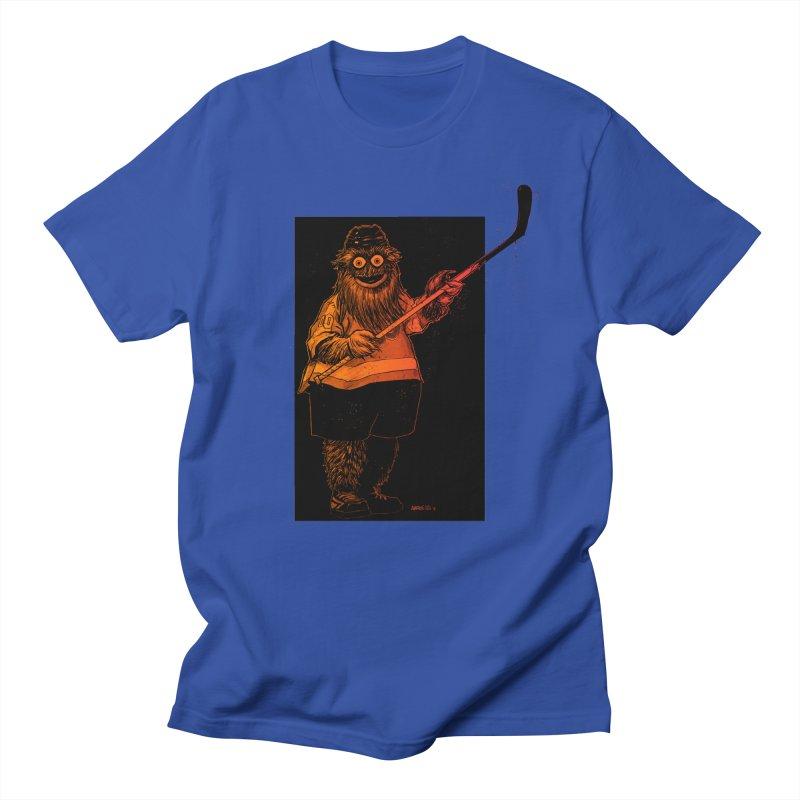 Gritty Men's Regular T-Shirt by Ambrose H.H.'s Artist Shop