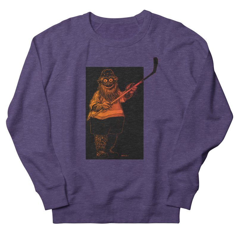 Gritty Women's French Terry Sweatshirt by Ambrose H.H.'s Artist Shop