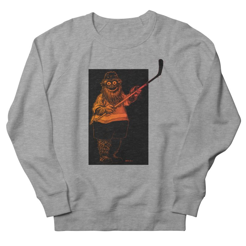 Gritty Men's Sweatshirt by Ambrose H.H.'s Artist Shop