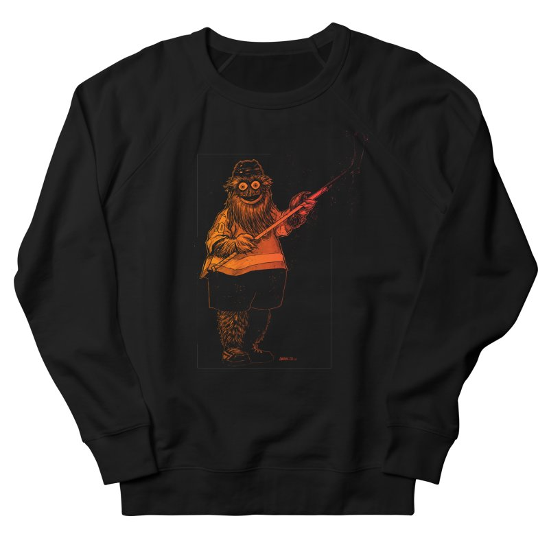 Gritty Men's French Terry Sweatshirt by Ambrose H.H.'s Artist Shop