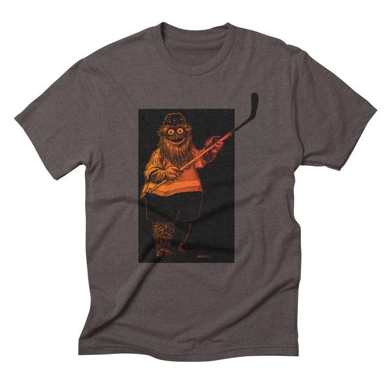 Gritty Men's Triblend T-Shirt by Ambrose H.H.'s Artist Shop
