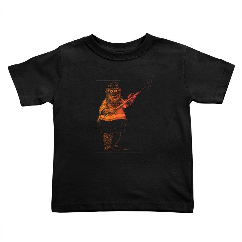 Gritty Kids Toddler T-Shirt by Ambrose H.H.'s Artist Shop