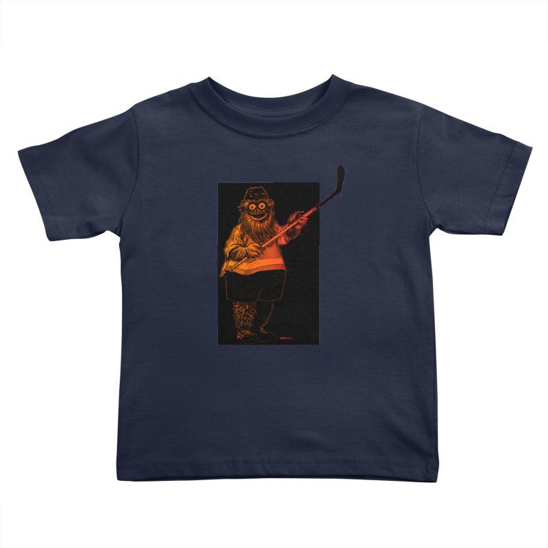 Gritty Kids Toddler T-Shirt by Ambrose H.H.'s Artist Shop