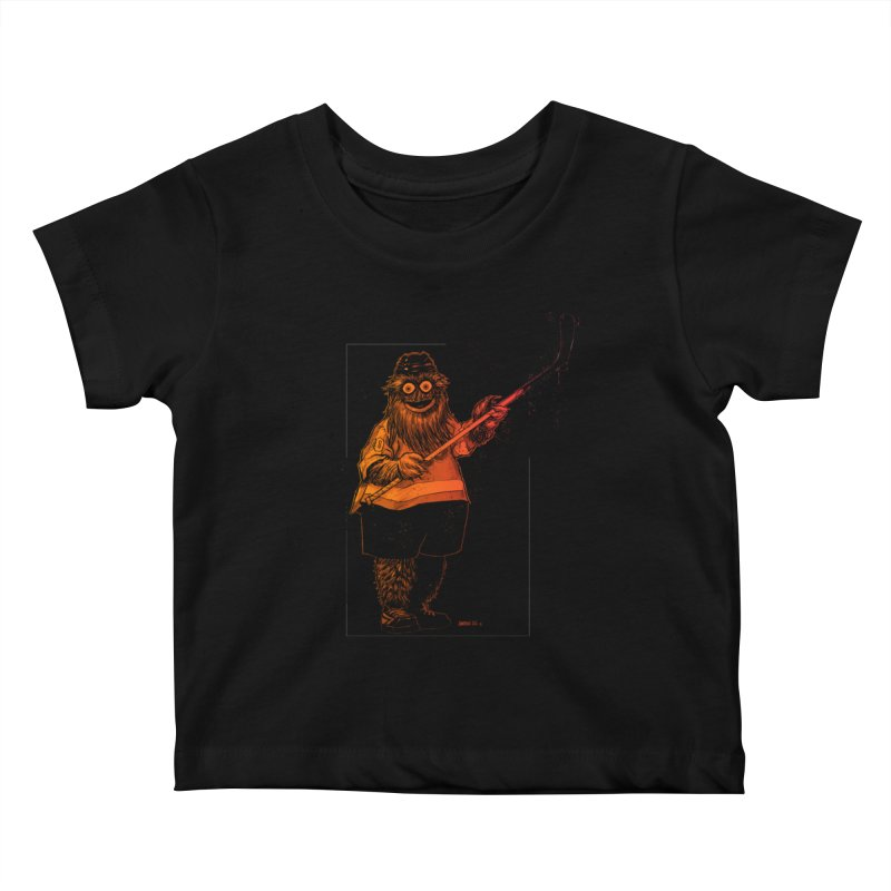 Gritty Kids Baby T-Shirt by Ambrose H.H.'s Artist Shop