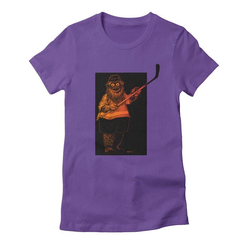 Gritty Women's T-Shirt by Ambrose H.H.'s Artist Shop