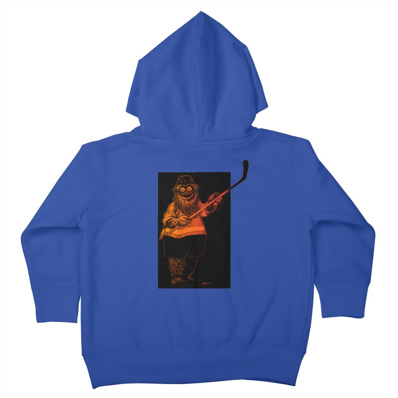Gritty Kids Toddler Zip-Up Hoody by Ambrose H.H.'s Artist Shop