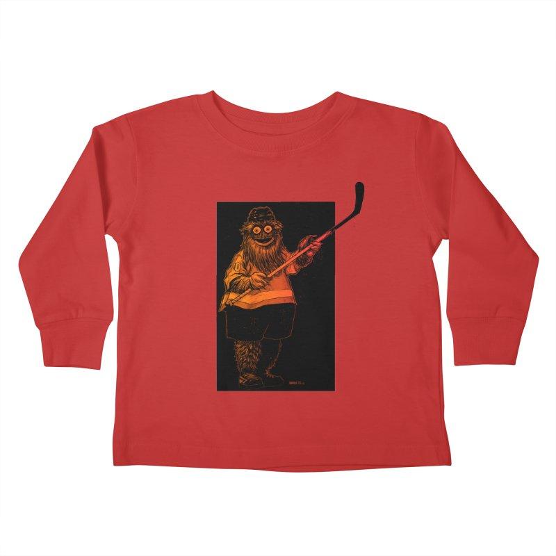 Gritty Kids Toddler Longsleeve T-Shirt by Ambrose H.H.'s Artist Shop