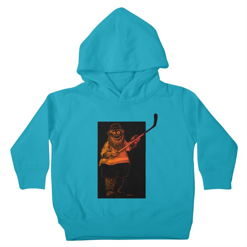 Gritty Kids Toddler Pullover Hoody by Ambrose H.H.'s Artist Shop
