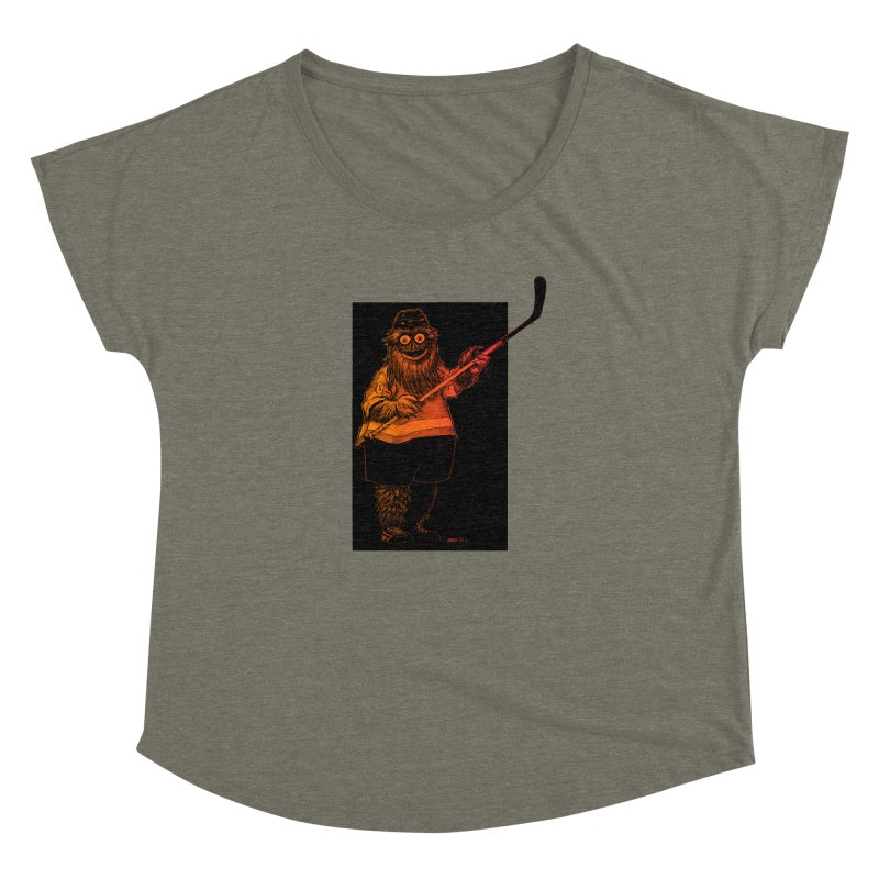 Gritty Women's Scoop Neck by Ambrose H.H.'s Artist Shop