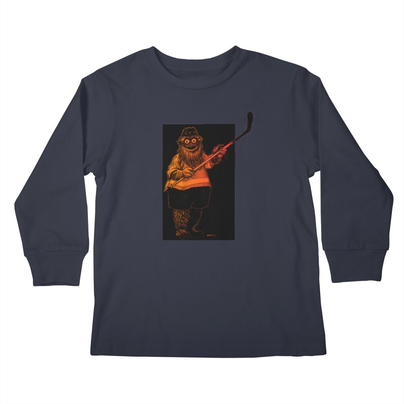Gritty Kids Longsleeve T-Shirt by Ambrose H.H.'s Artist Shop