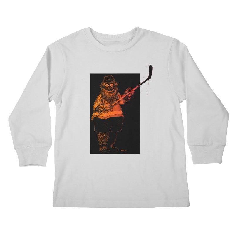 Gritty Kids Longsleeve T-Shirt by Ambrose H.H.'s Artist Shop