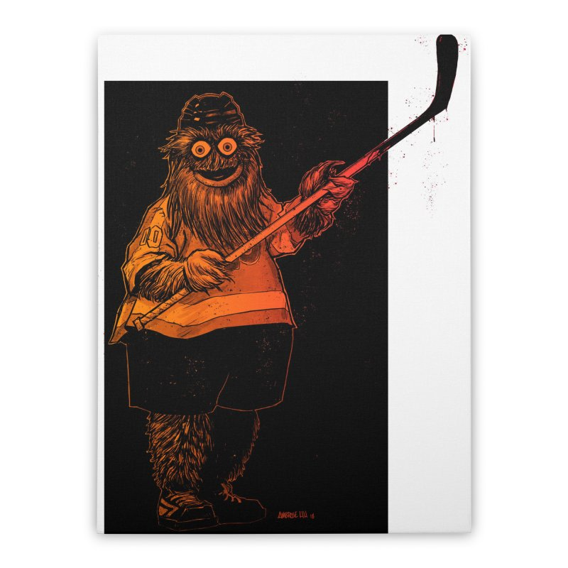 Gritty Home Stretched Canvas by Ambrose H.H.'s Artist Shop