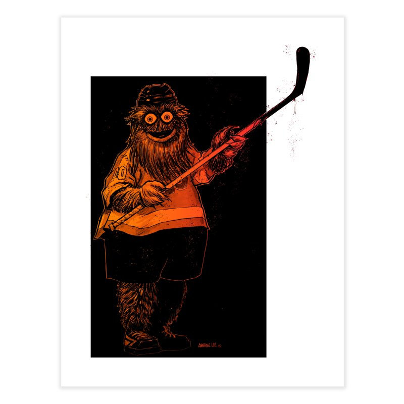 Gritty Home Fine Art Print by Ambrose H.H.'s Artist Shop