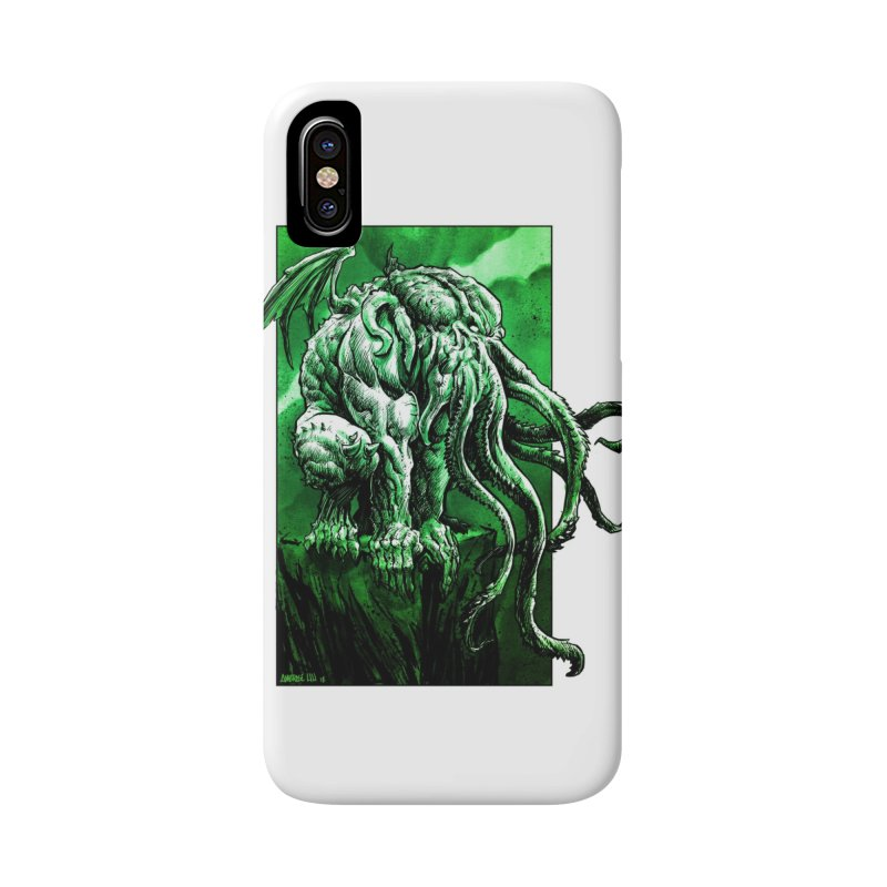 Cthulhu Accessories Phone Case by Ambrose H.H.'s Artist Shop