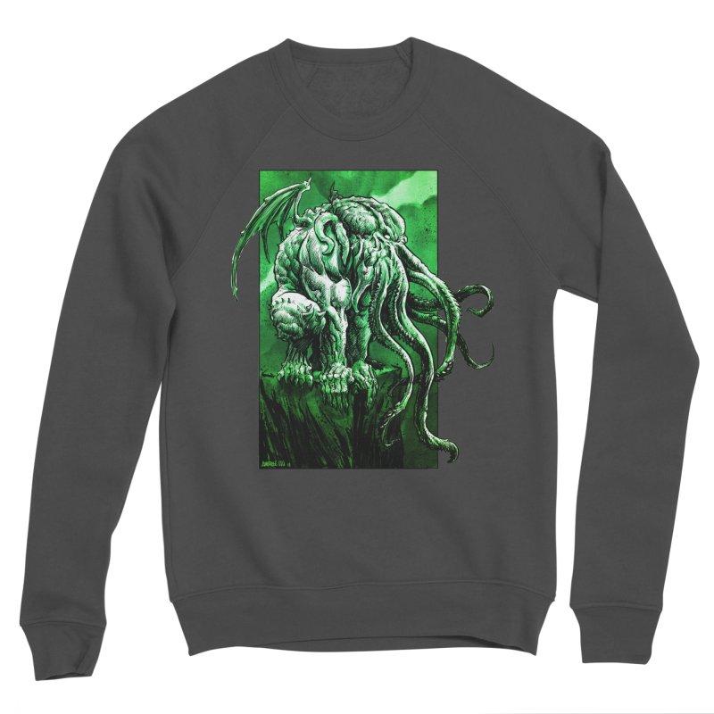 Cthulhu Men's Sweatshirt by Ambrose H.H.'s Artist Shop