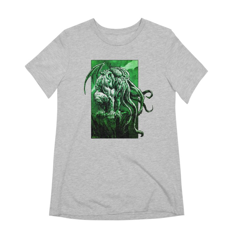 Cthulhu Women's Extra Soft T-Shirt by Ambrose H.H.'s Artist Shop