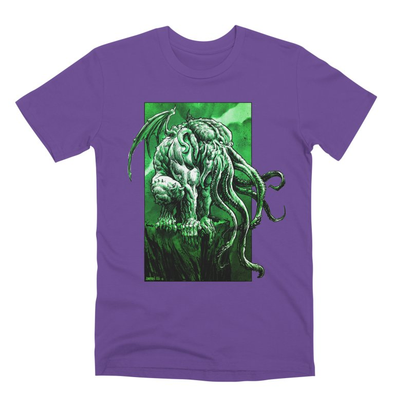 Cthulhu Men's Premium T-Shirt by Ambrose H.H.'s Artist Shop