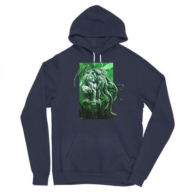 Cthulhu Men's Pullover Hoody by Ambrose H.H.'s Artist Shop