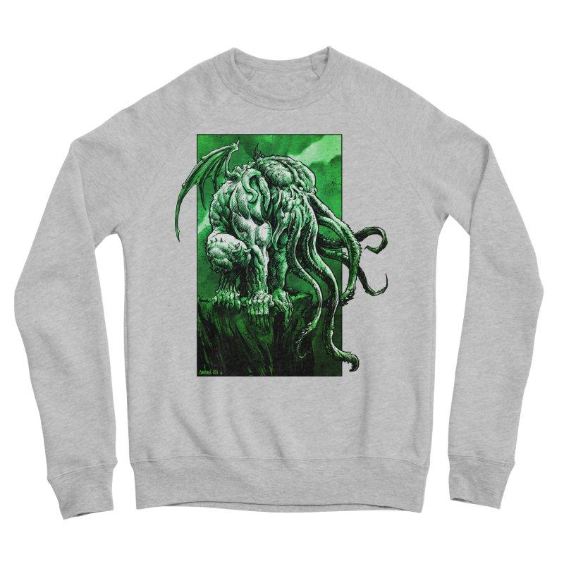 Cthulhu Women's Sponge Fleece Sweatshirt by Ambrose H.H.'s Artist Shop