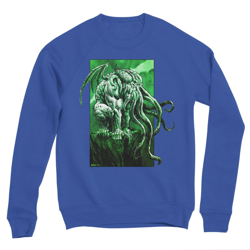 Cthulhu Men's Sweatshirt by Ambrose H.H.'s Artist Shop
