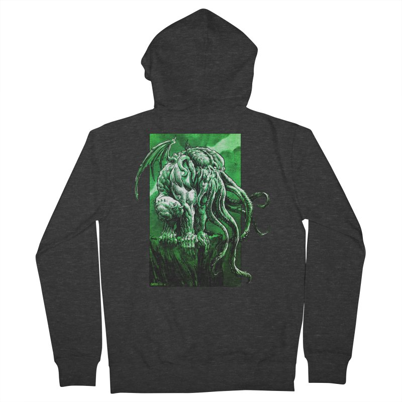 Cthulhu Women's Zip-Up Hoody by Ambrose H.H.'s Artist Shop