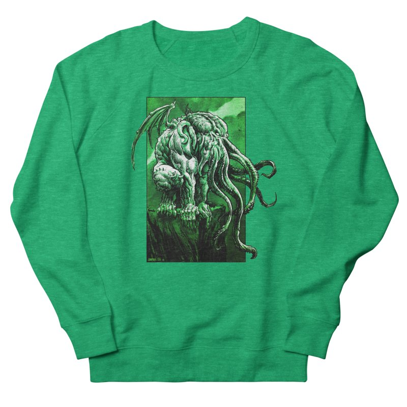 Cthulhu Women's Sweatshirt by Ambrose H.H.'s Artist Shop