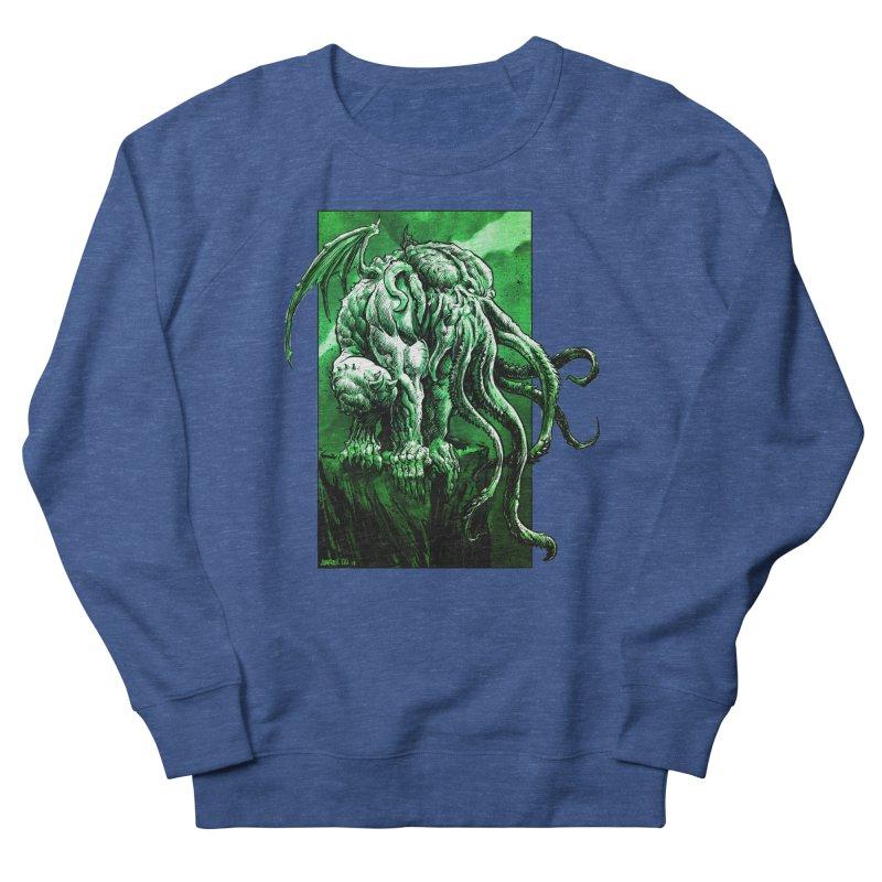 Cthulhu Women's Sweatshirt by Ambrose H.H.'s Artist Shop