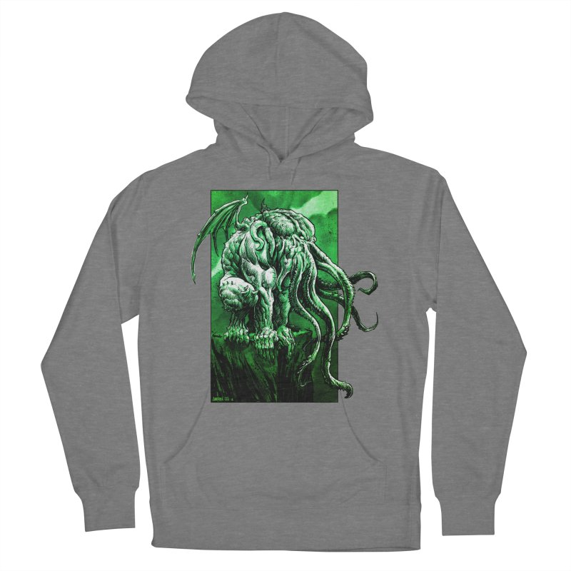 Cthulhu Women's Pullover Hoody by Ambrose H.H.'s Artist Shop