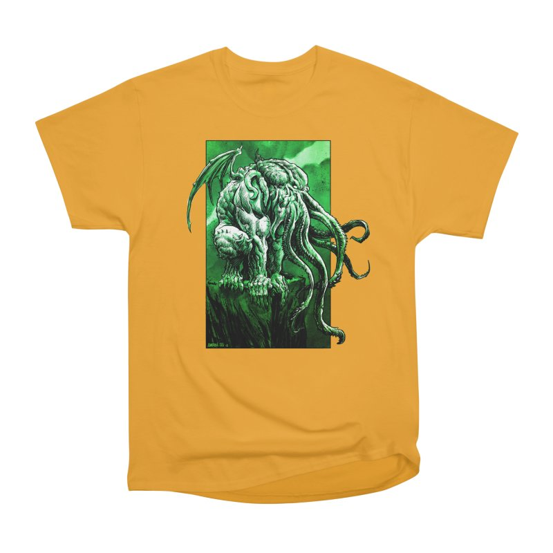 Cthulhu Men's Heavyweight T-Shirt by Ambrose H.H.'s Artist Shop