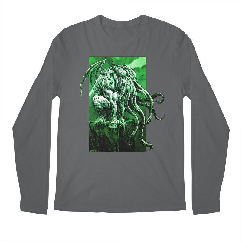 Cthulhu Men's Longsleeve T-Shirt by Ambrose H.H.'s Artist Shop