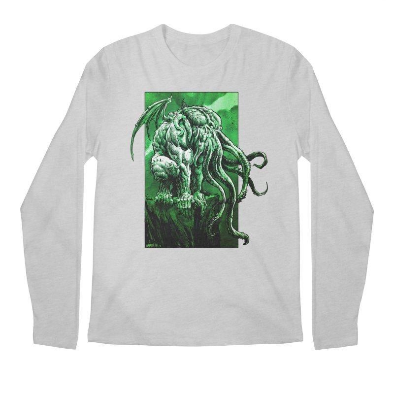 Cthulhu Men's Regular Longsleeve T-Shirt by Ambrose H.H.'s Artist Shop