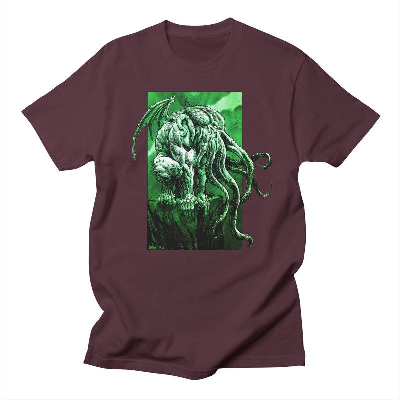 Cthulhu Women's Regular Unisex T-Shirt by Ambrose H.H.'s Artist Shop