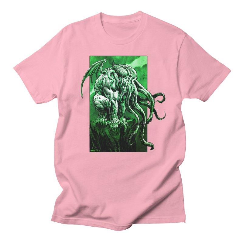 Cthulhu Men's T-Shirt by Ambrose H.H.'s Artist Shop