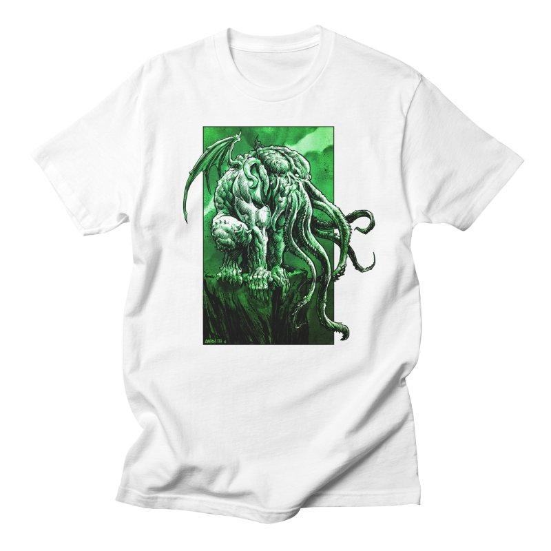 Cthulhu Women's Regular Unisex T-Shirt by Ambrose H.H.'s Artist Shop