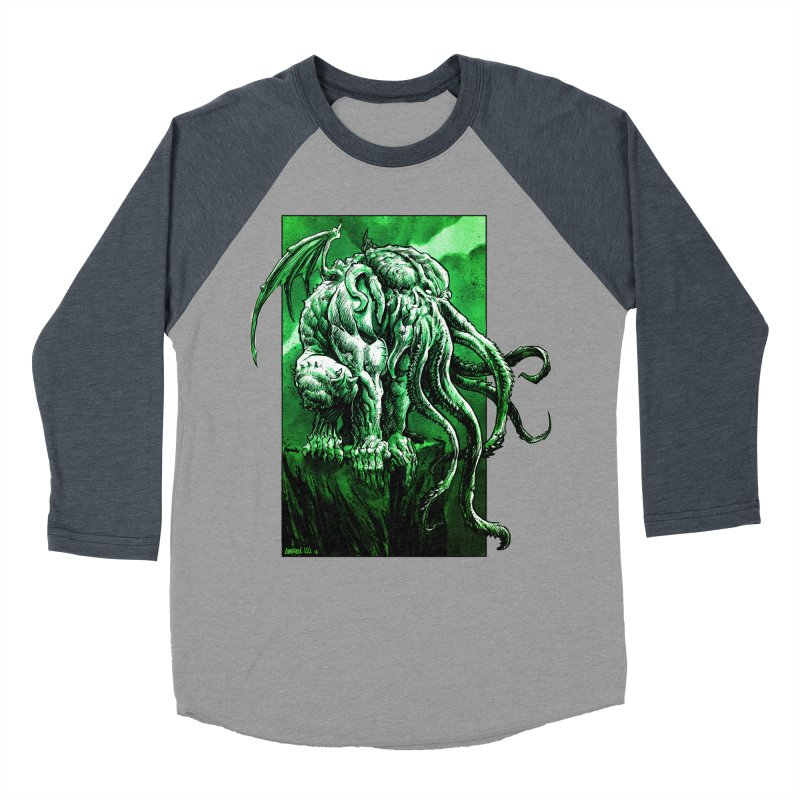 Cthulhu Women's Longsleeve T-Shirt by Ambrose H.H.'s Artist Shop
